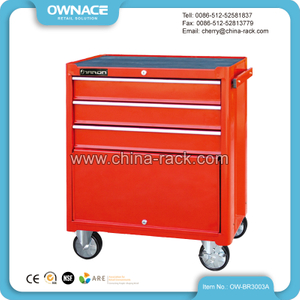 OW-BR3003A Stable Steel Garage Roller Tool Cabinet /Trolley