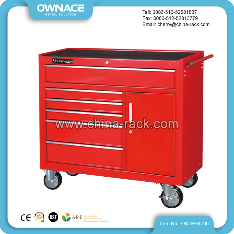OW-BR4706 42 Inch Heavy Duty Tool Cabinet on Wheels