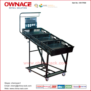 OW-FR09 Tube Style Fruit and Vegetable Rack