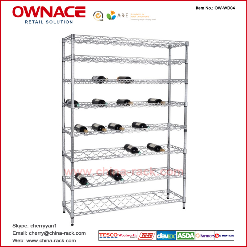 Ow Wd04 Wine Rack Red Holder